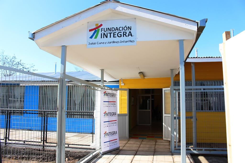 Autoridades inauguraron sala cuna de jard n infantil los for Jardines integra